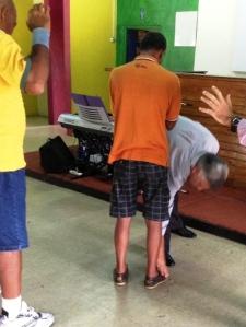 Babu - prayer causes pain to flee